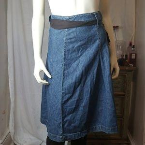 Denim Jean Skirt Plus Size by Jones NY 20W